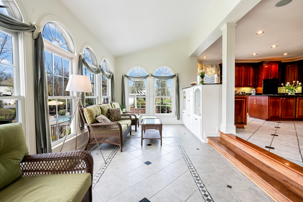 A beautiful home staged for sale