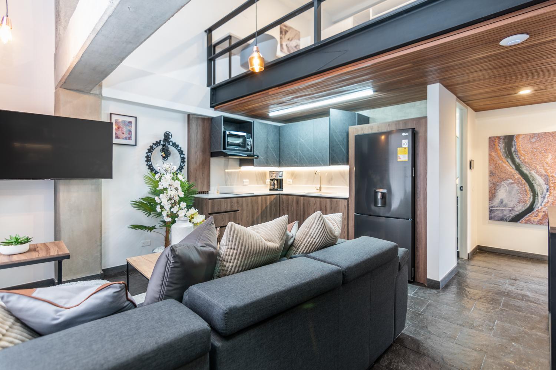 Manila Luxury Suite 401 – Fashionable 1 Bedroom Loft
